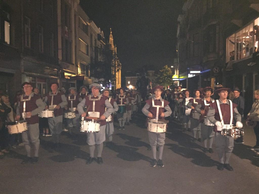Trommelkorps in Dendermonde Medium